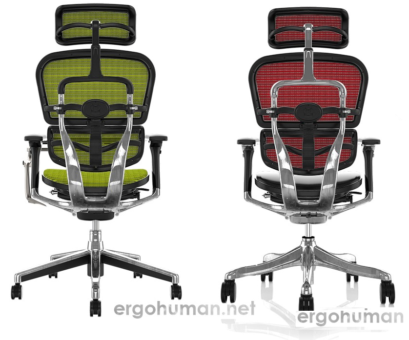 Ergohuman Elite vs Ergohuman Plus Luxury